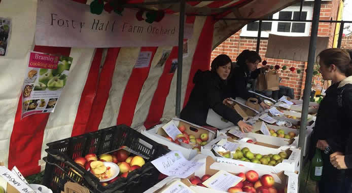 Apple Day at Forty Hall Farm